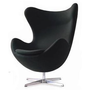 Arne Jacobsen Egg Chair - Black:Amazon:Home & Kitchen