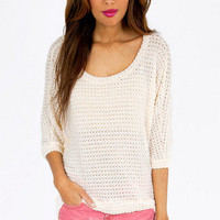 Softly Crocheted Top $30