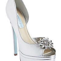 BetseyJohnson.com - SB-HONOR SILVER METALLIC