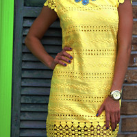The Perfect Dot Dresses: Lemon | Hope's