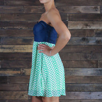 Moves Like Jagger Chevron Dress