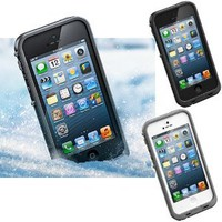 Amazon.com: S9D New Waterproof, Dirt-proof Case Cover Protecter For iPhone 5 Black White Color: Cell Phones & Accessories