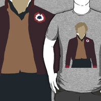 Enjolras - Aaron Tveit - Les Miserables minimalist design T-Shirts & H