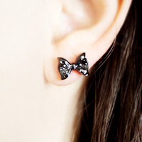 Tiny Bow Studs - Cute Kawaii Jewelry