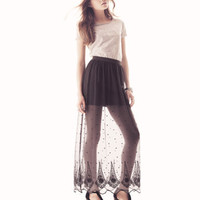 Long Tulle Skirt - from H&M