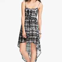 Mimi Chica Tie Dye High/Low Dress (Juniors) | Nordstrom