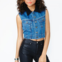 Riot Time Denim Vest