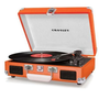 Crosley Cruiser Turntable CR8005A-OR - It's Portable! - Orange Vinyl - Whimsical & Unique Gift Ideas for the Coolest Gift Givers