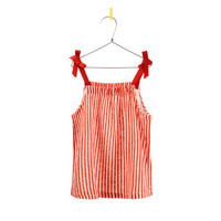 STRIPED TOP - T-shirts - Girl - Kids - ZARA Greece