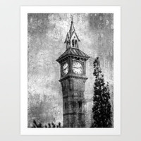 The Clock Art Print by  Alexia Miles photography