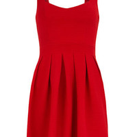 Red heart back skater dress - Dresses Sale  - Dresses