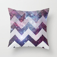 Infinite White Throw Pillow by jessadee77