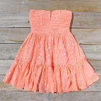 Peaches & Sugar Dress, Sweet Women's Bohemian Clothing