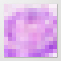 Re-Created Colored Squares No. 51 Stretched Canvas by Robert Lee