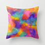 Fresh Throw Pillow by Erin Jordan