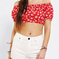 Urban Renewal Peasant Cropped Top