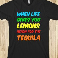 life gives you lemons - Clever Clothes - Skreened T-shirts, Organic Shirts, Hoodies, Kids Tees, Baby One-Pieces and Tote Bags