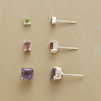 THREE BY THREE EARRINGS, SET OF 3         -                  Earrings         -                  Jewelry                       | Robert Redford's Sundance Catalog