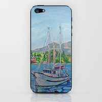 The Murralet At Winter Harbour iPhone & iPod Skin by Morgan Ralston