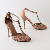 Shimmering Trellis Heels - Anthropologie.com
