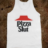 Pizza Slut - Marvel Designs - Skreened T-shirts, Organic Shirts, Hoodies, Kids Tees, Baby One-Pieces and Tote Bags