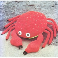Cute Crochet Crab Pattern pattern on Craftsy.com