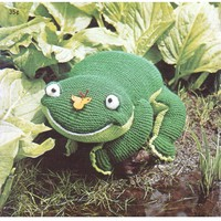 Franklin The Frog With Butterfly Pattern pattern on Craftsy.com