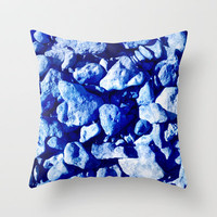 Ancestry Blues  Throw Pillow by Gréta Thórsdóttir
