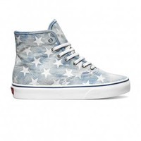 Authentic Hi Shoe - Blue Stars  - Vans | Superette