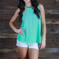 Orange County Cut Out Top
