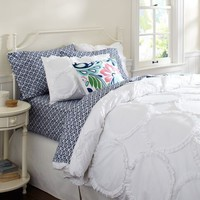 Ruffle Rings Duvet Cover + Sham