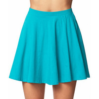 Basic Knit Skater Skirt | FOREVER 21 - 2037078407
