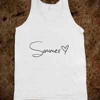 Summer Love Heart - Awesome fun #$!!*& - Skreened T-shirts, Organic Shirts, Hoodies, Kids Tees, Baby One-Pieces and Tote Bags