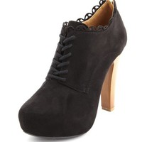 Zip-Back Sueded Ankle Bootie: Charlotte Russe