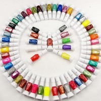 30 Colors Nail Art Two-Way Pen and Brush Varnish Polish:Amazon:Beauty