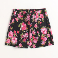 Kirra High Rise Mill Floral Shorts at PacSun.com