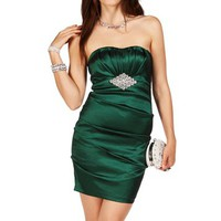 Nyla-Hot Emerald Prom Dress
