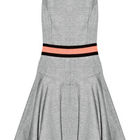 Milly | Metallic-flecked slub-woven dress | NET-A-PORTER.COM