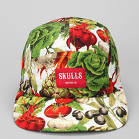 SKULLS Vegetable Party 5-Panel Hat