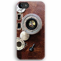 Classic Old Vintage Leica with Leather camera apple iphone 5, iphone 4 4s, iPhone 3Gs, iPod Touch 4g case by Pointsalestore .com