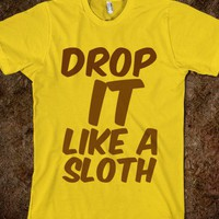 sloth - Clever Clothes - Skreened T-shirts, Organic Shirts, Hoodies, Kids Tees, Baby One-Pieces and Tote Bags