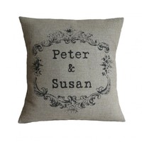 Personalised Couple Pillow Cover