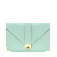ASOS | ASOS Clutch Bag With Strap And Fitting at ASOS