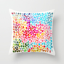 Rain 6 Throw Pillow by Garima Dhawan