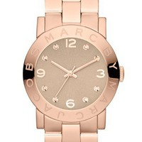 MARC BY MARC JACOBS 'Amy' Crystal Bracelet Watch | Nordstrom