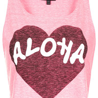 Fluro Aloha Vest - New In This Week - New In - Topshop USA