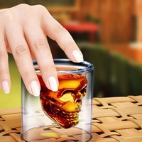 Doomed - Crystal Skull Shot Glass