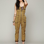 Free People Adorned Utility Jumpsuit