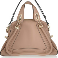 Chloé | The Paraty Military leather shoulder bag | NET-A-PORTER.COM