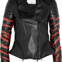 3.1 Phillip Lim | Tiger-print leather biker jacket | NET-A-PORTER.COM